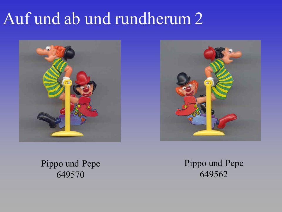 Auf und ab und rundherum 2 Pippo und Pepe 649570 Pippo und Pepe 649562