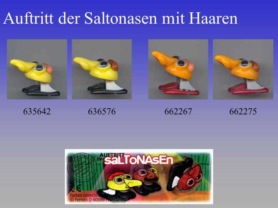 Auftritt der Saltonasen mit Haaren 635642636576662267662275