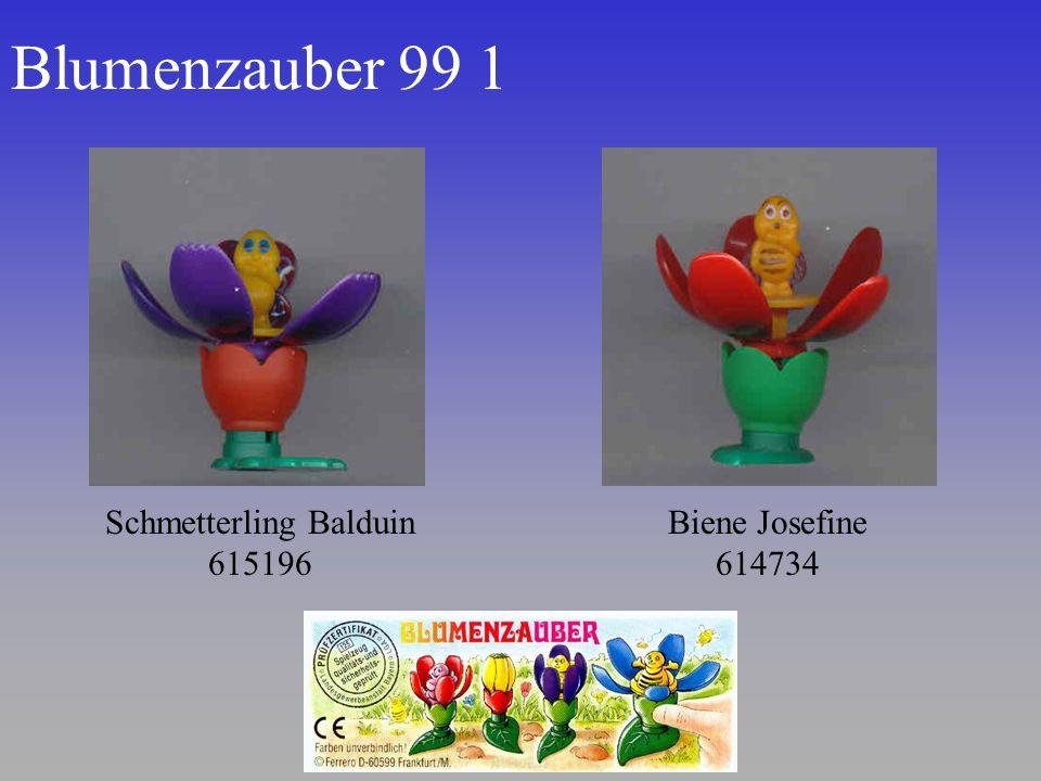 Blumenzauber 99 1 Schmetterling Balduin 615196 Biene Josefine 614734