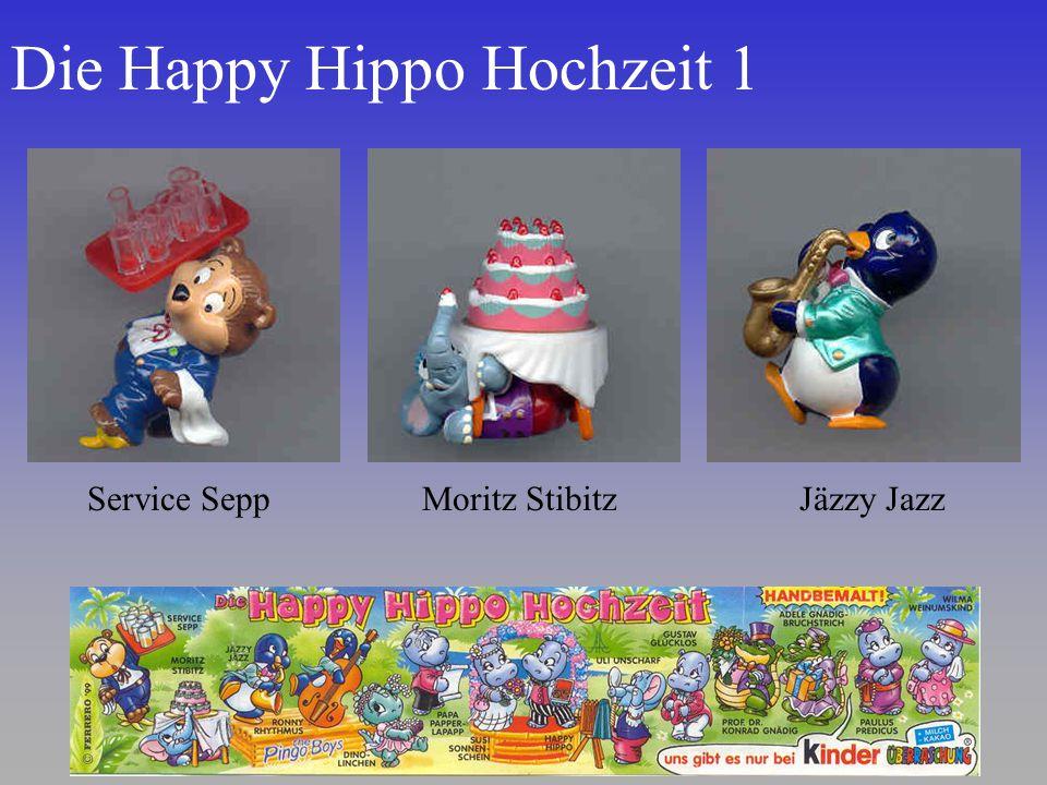 Die Happy Hippo Hochzeit 1 Service SeppMoritz StibitzJäzzy Jazz