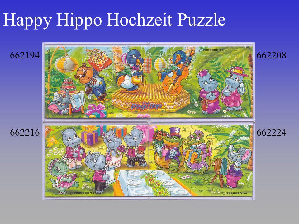 Happy Hippo Hochzeit Puzzle 662194 662216 662208 662224