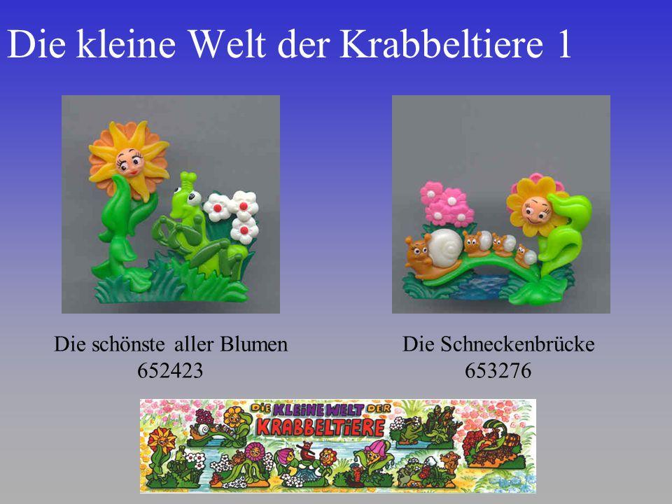 Die kleine Welt der Krabbeltiere 1 Die schönste aller Blumen 652423 Die Schneckenbrücke 653276