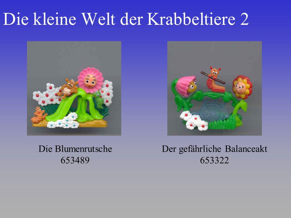 Die kleine Welt der Krabbeltiere 2 Die Blumenrutsche 653489 Der gefährliche Balanceakt 653322