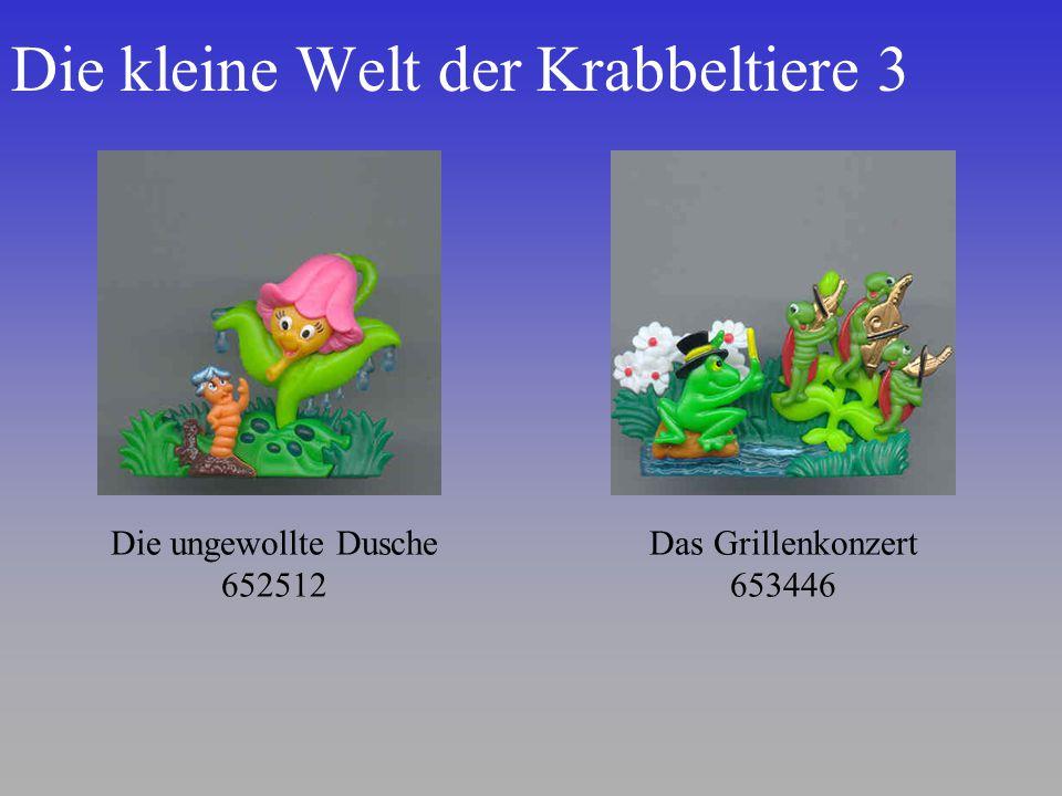 Die kleine Welt der Krabbeltiere 3 Die ungewollte Dusche 652512 Das Grillenkonzert 653446