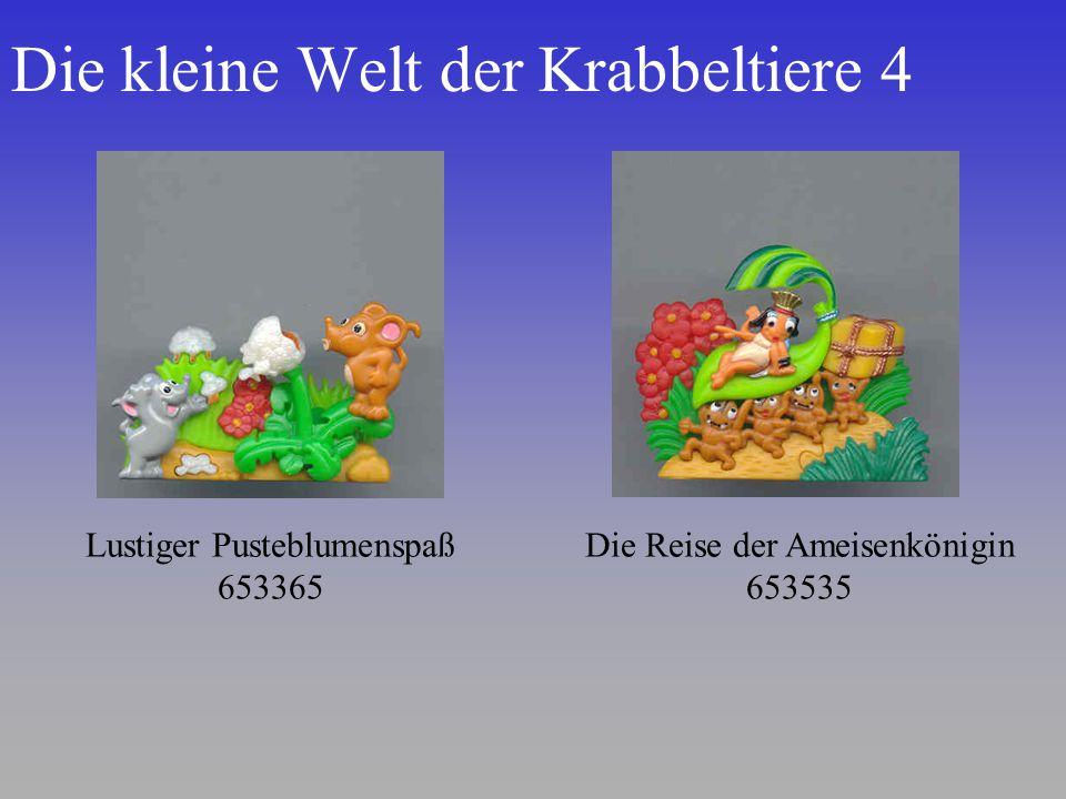 Die kleine Welt der Krabbeltiere 4 Lustiger Pusteblumenspaß 653365 Die Reise der Ameisenkönigin 653535