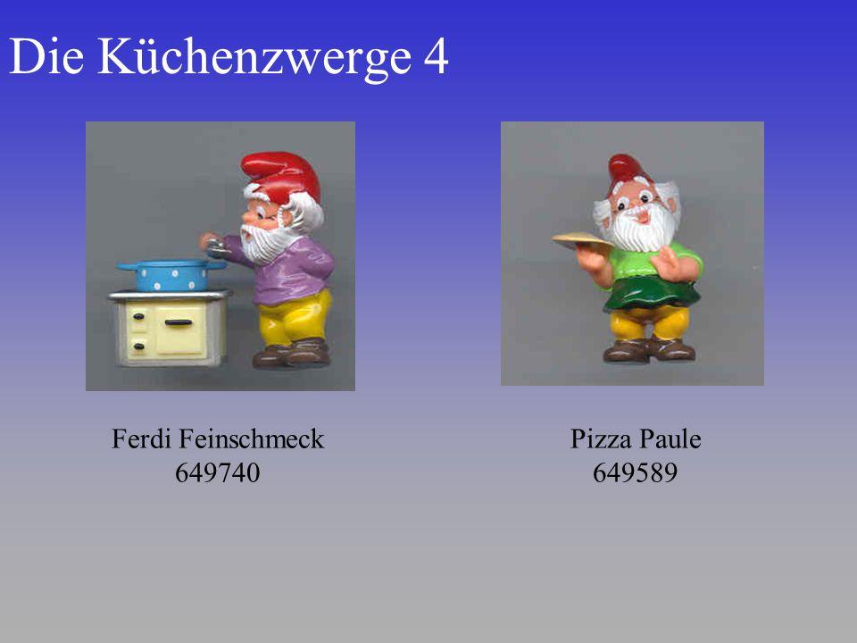 Die Küchenzwerge 4 Ferdi Feinschmeck 649740 Pizza Paule 649589