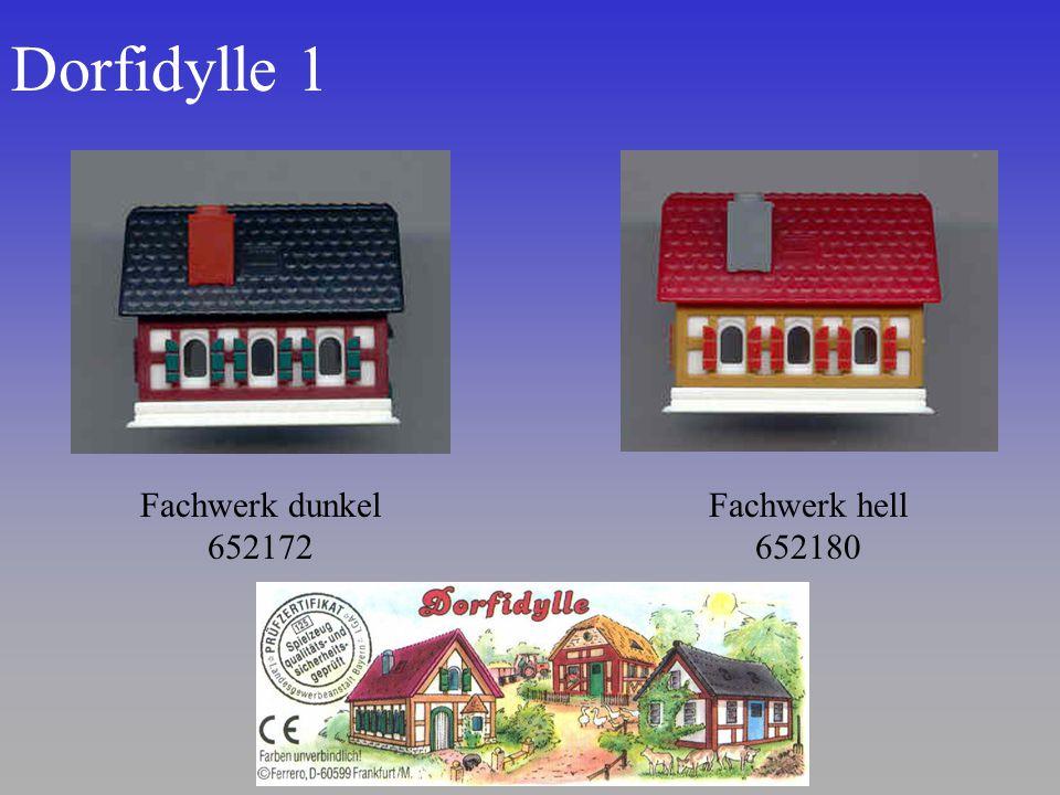 Dorfidylle 1 Fachwerk hell 652180 Fachwerk dunkel 652172