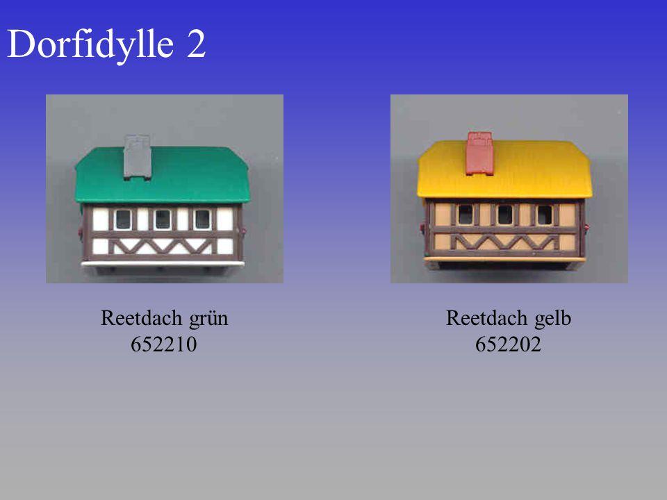 Dorfidylle 2 Reetdach gelb 652202 Reetdach grün 652210