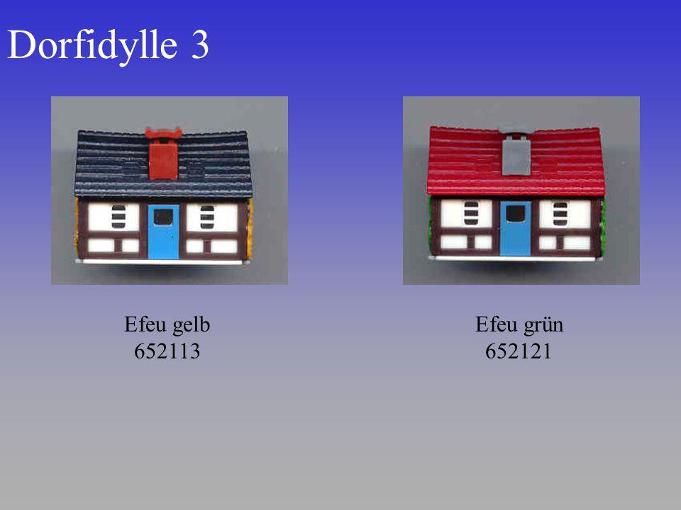 Dorfidylle 3 Efeu grün 652121 Efeu gelb 652113