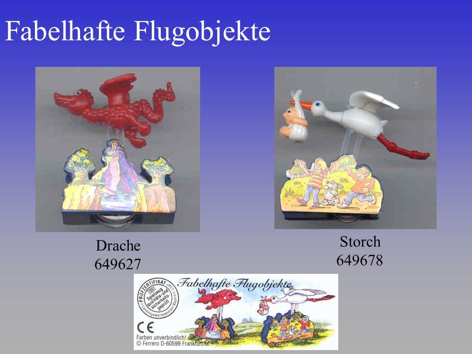Fabelhafte Flugobjekte Storch 649678 Drache 649627