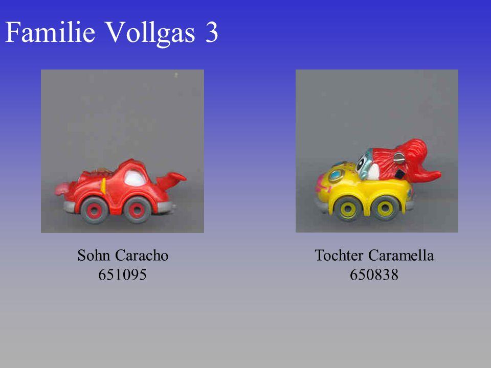 Familie Vollgas 3 Tochter Caramella 650838 Sohn Caracho 651095