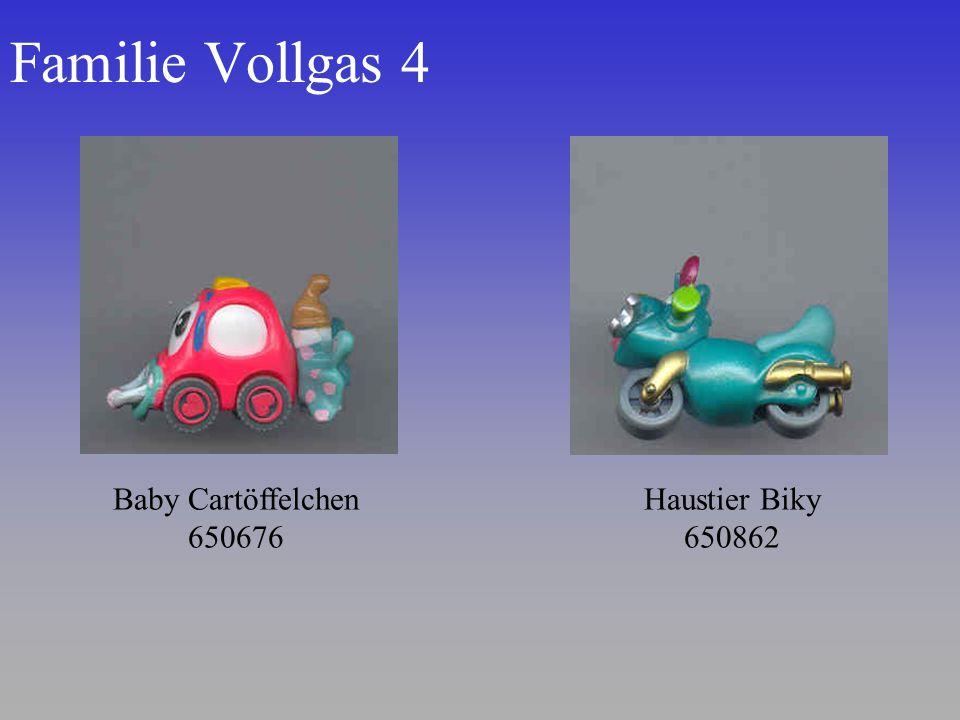 Familie Vollgas 4 Haustier Biky 650862 Baby Cartöffelchen 650676