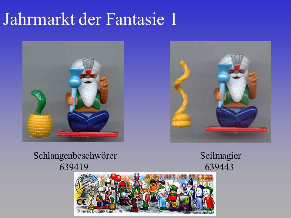 Jahrmarkt der Fantasie 1 Schlangenbeschwörer 639419 Seilmagier 639443