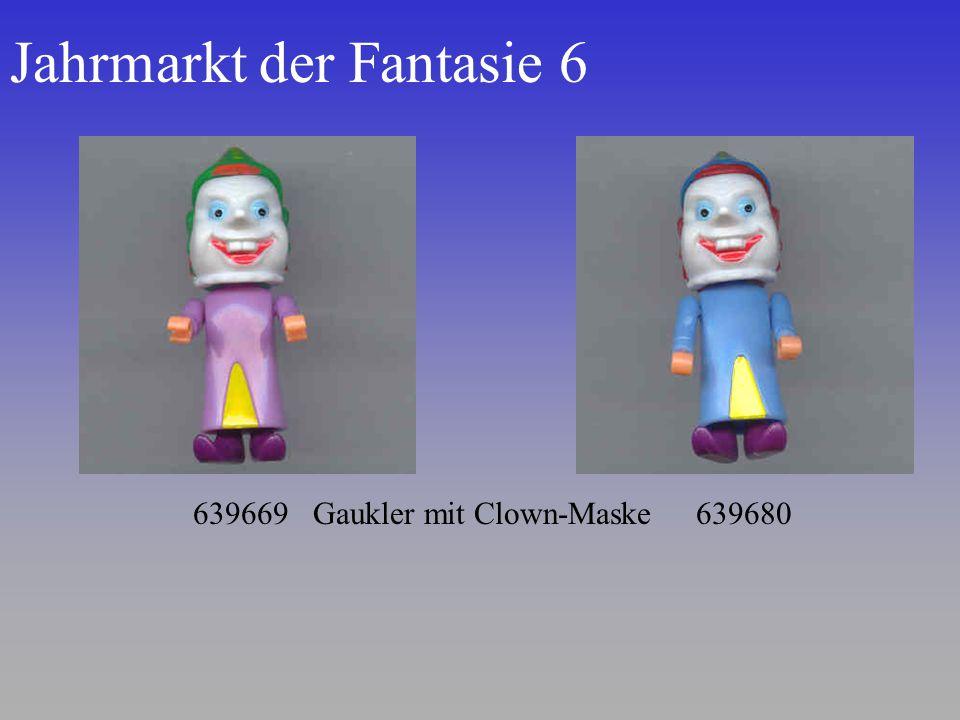 Jahrmarkt der Fantasie 6 639669 Gaukler mit Clown-Maske 639680