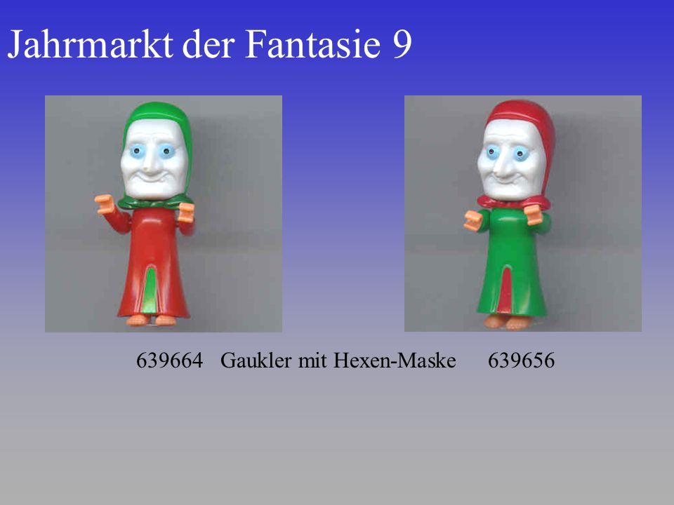 Jahrmarkt der Fantasie 9 639664 Gaukler mit Hexen-Maske 639656