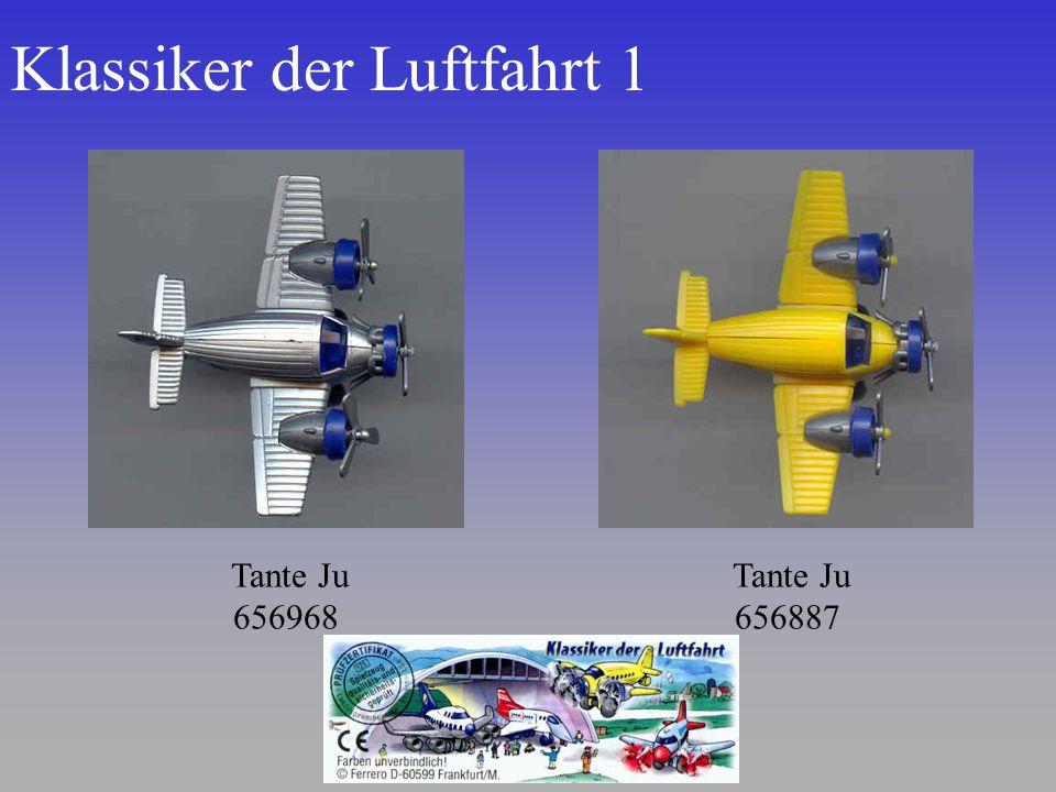 Klassiker der Luftfahrt 1 Tante Ju 656887 Tante Ju 656968