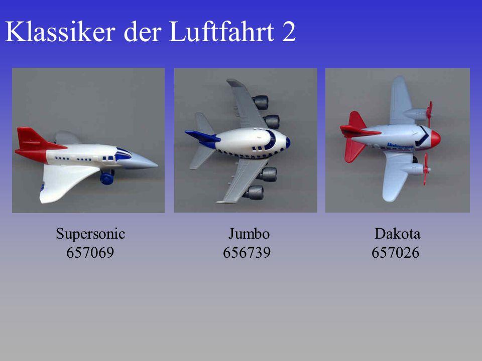 Klassiker der Luftfahrt 2 Dakota 657026 Supersonic 657069 Jumbo 656739
