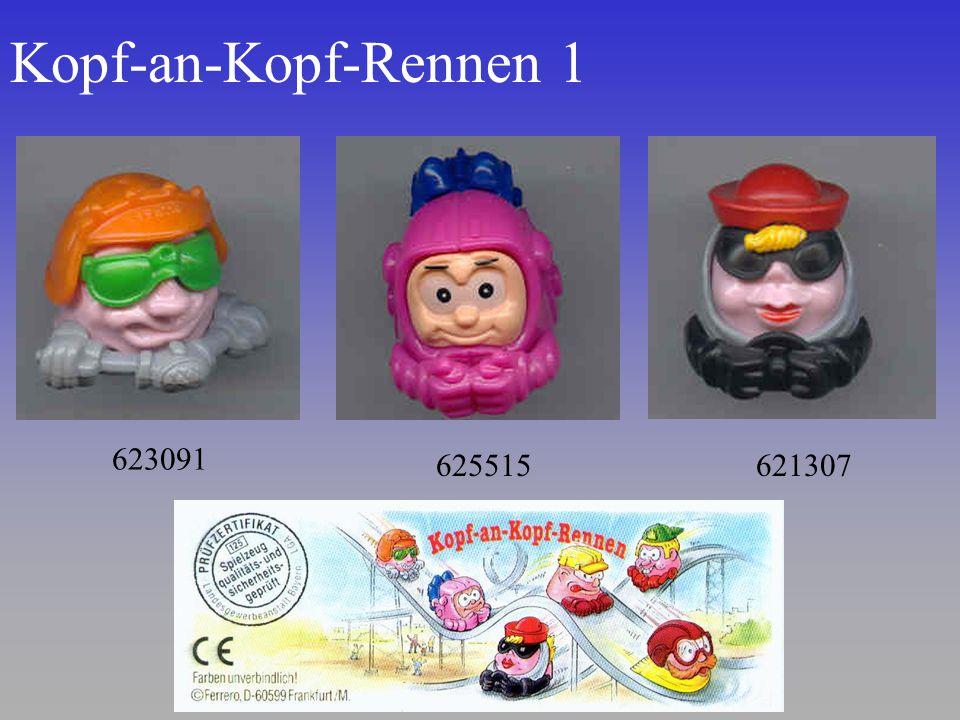 Kopf-an-Kopf-Rennen 1 621307 623091 625515