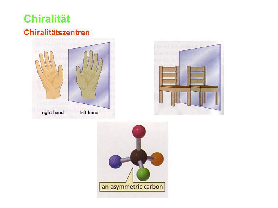 Chiralität Chiralitätszentren