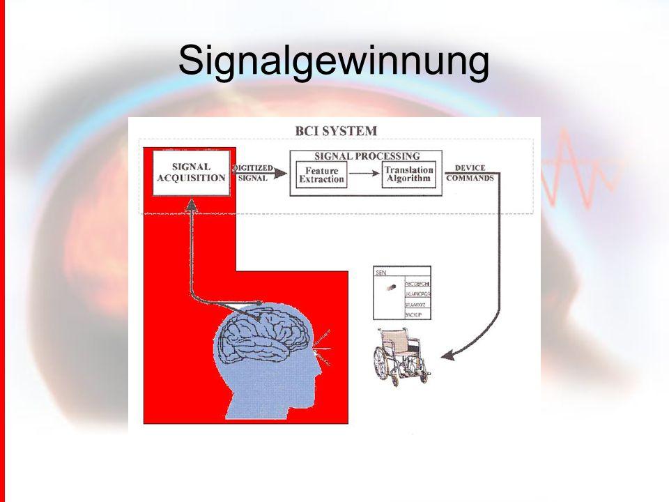 Signalgewinnung
