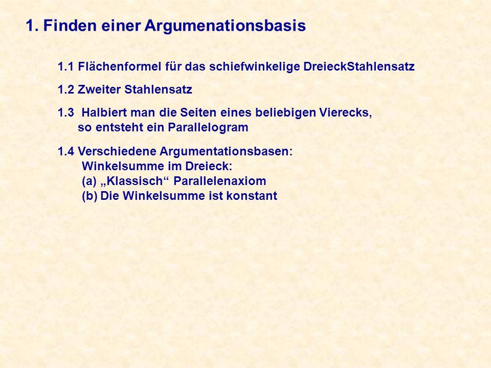 2. Hinzufügen weiterer Sätze und Definitionen 2.1 Axiome und Sätze für Ungleichungen