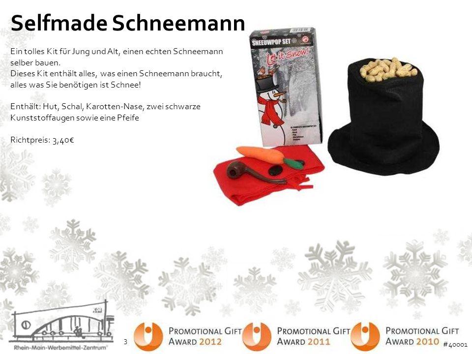 Selfmade Schneemann Ein tolles Kit für Jung und Alt, einen echten Schneemann selber bauen. Dieses Kit enthält alles, was einen Schneemann braucht, all