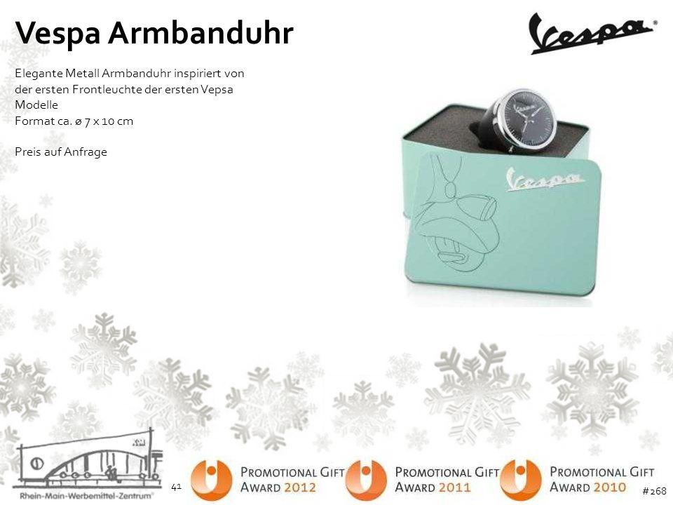 Vespa Armbanduhr Elegante Metall Armbanduhr inspiriert von der ersten Frontleuchte der ersten Vepsa Modelle Format ca. ø 7 x 10 cm Preis auf Anfrage 4