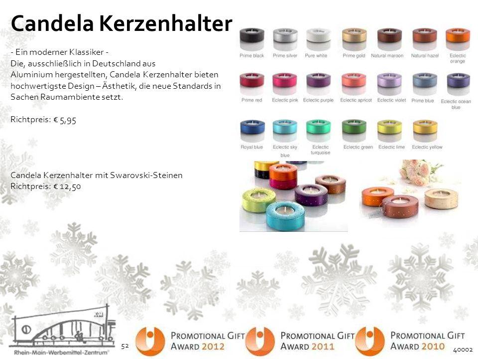 Candela Kerzenhalter - Ein moderner Klassiker - Die, ausschließlich in Deutschland aus Aluminium hergestellten, Candela Kerzenhalter bieten hochwertig
