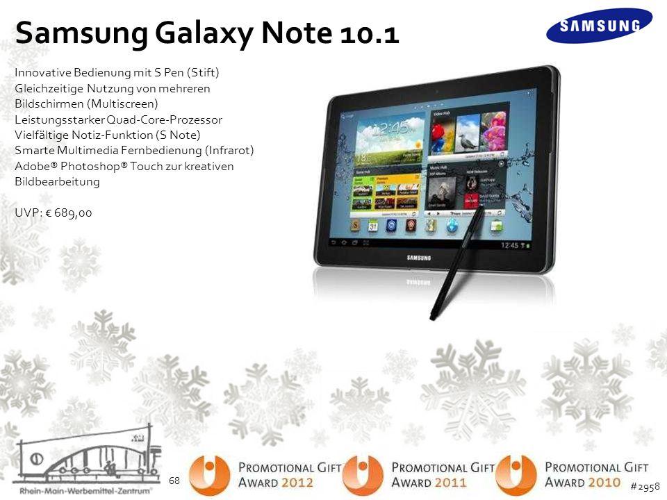 Samsung Galaxy Note 10.1 Innovative Bedienung mit S Pen (Stift) Gleichzeitige Nutzung von mehreren Bildschirmen (Multiscreen) Leistungsstarker Quad-Co