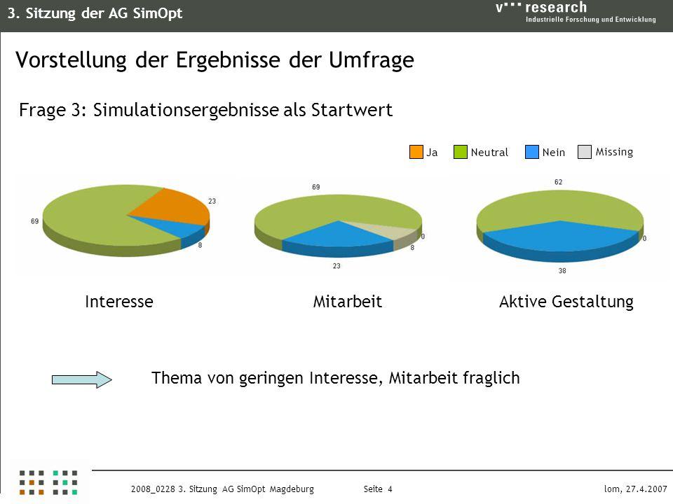 3. Sitzung der AG SimOpt Seite 4 lom, 27.4.20072008_0228 3.