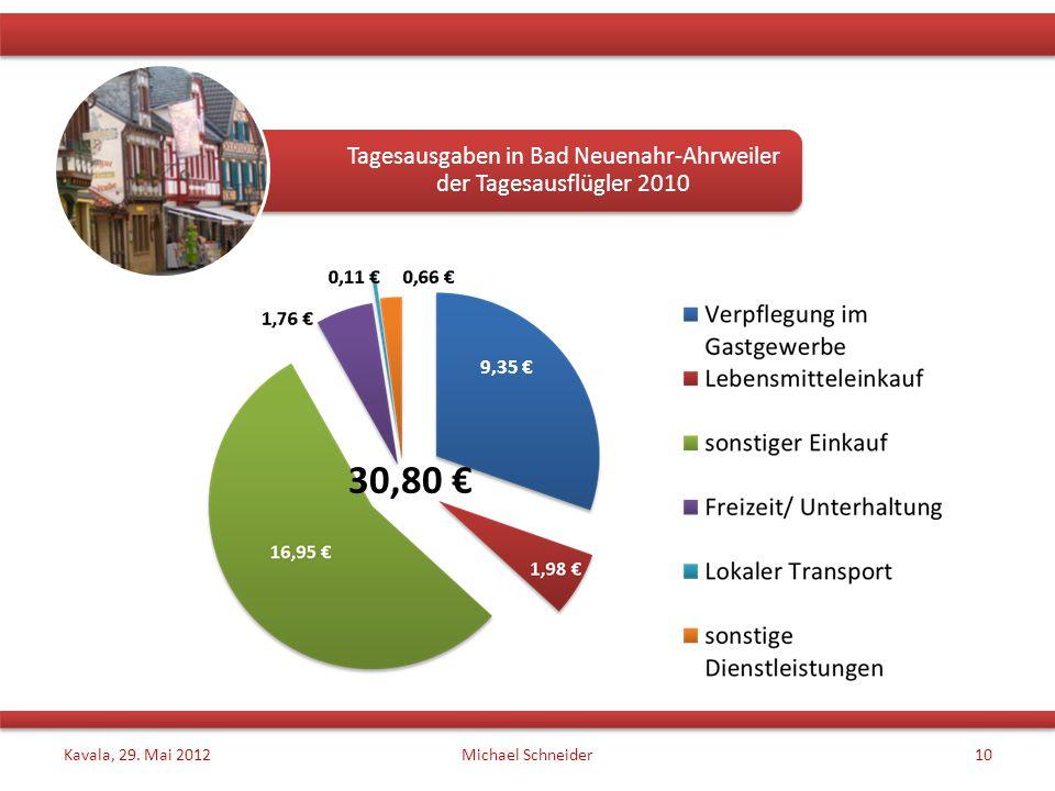 Kavala, 29. Mai 2012Michael Schneider10 Tagesausgaben in Bad Neuenahr-Ahrweiler der Tagesausflügler 2010 30,80 € 9,35 €