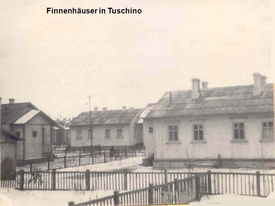 Finnenhäuser in Tuschino
