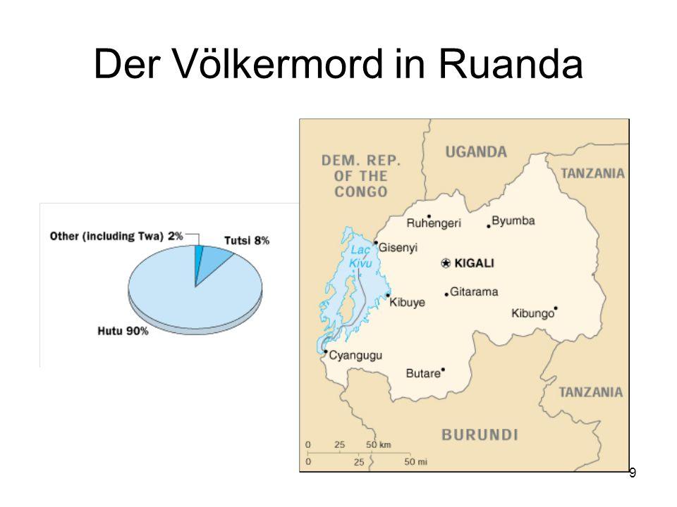 9 Der Völkermord in Ruanda