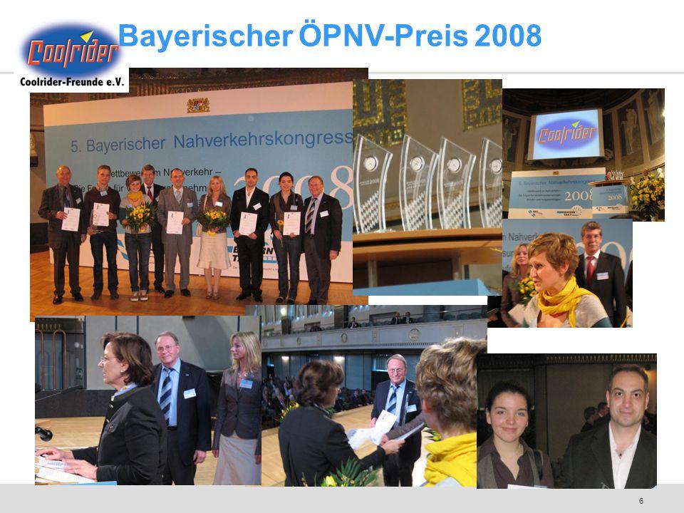 6 Bayerischer ÖPNV-Preis 2008
