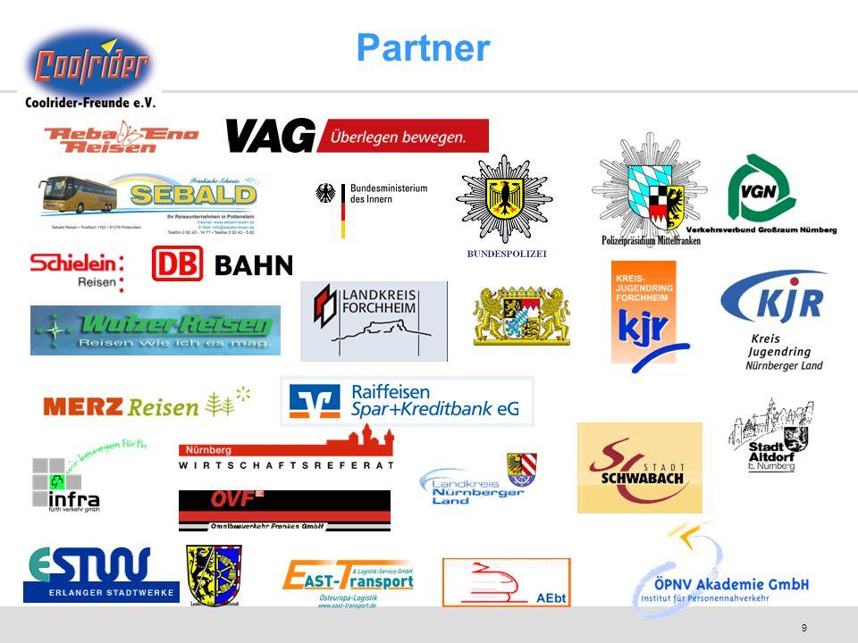 10 Vereinsgründe Unabhängige Organisation.Coolrider soll kein Geschäft werden.