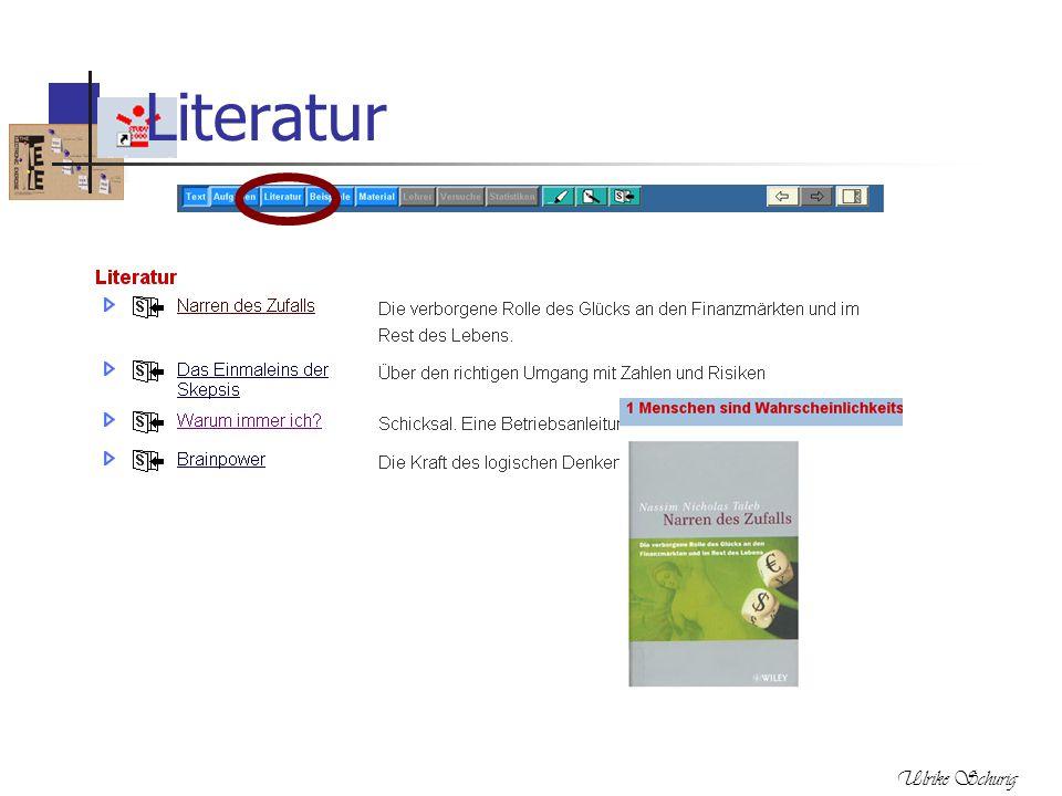 Ulrike Schurig Literatur