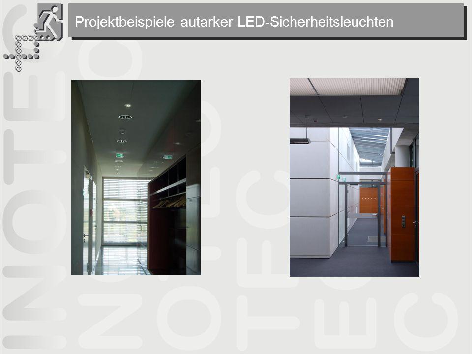 Projektbeispiele autarker LED-Sicherheitsleuchten