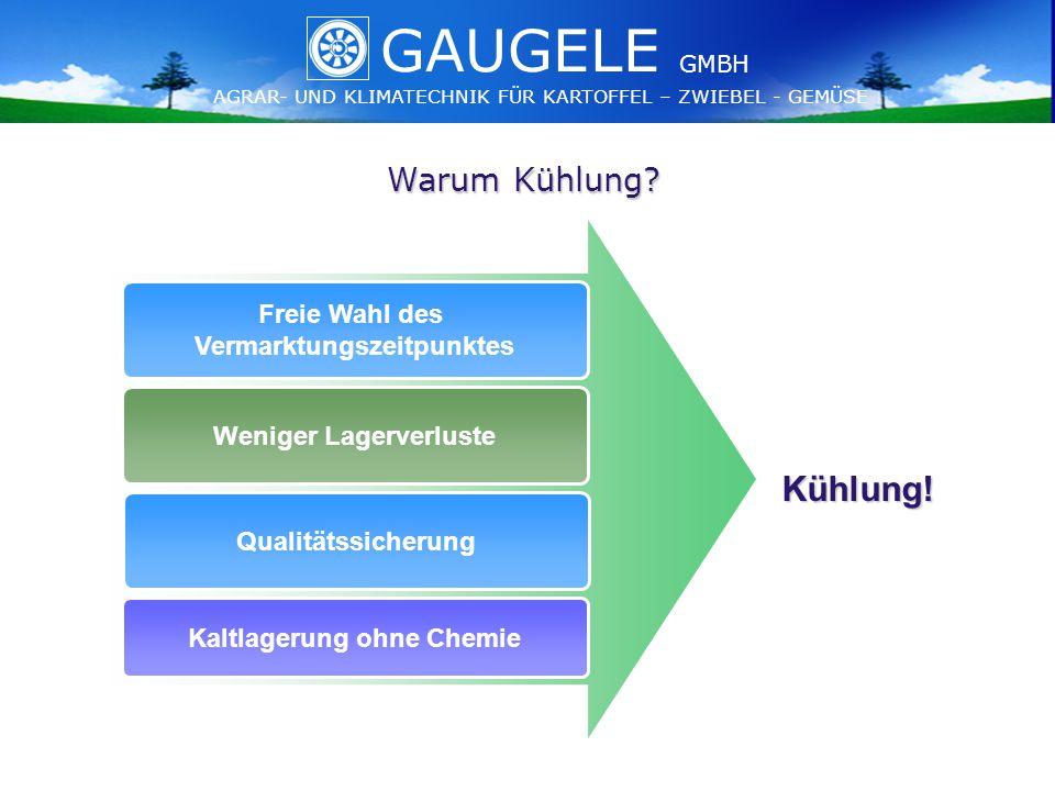 GAUGELE AGRAR- UND KLIMATECHNIK FÜR KARTOFFEL – ZWIEBEL - GEMÜSE GMBH GAUGELE AGRAR- UND KLIMATECHNIK FÜR KARTOFFEL – ZWIEBEL - GEMÜSE GMBH Warum Kühlung.