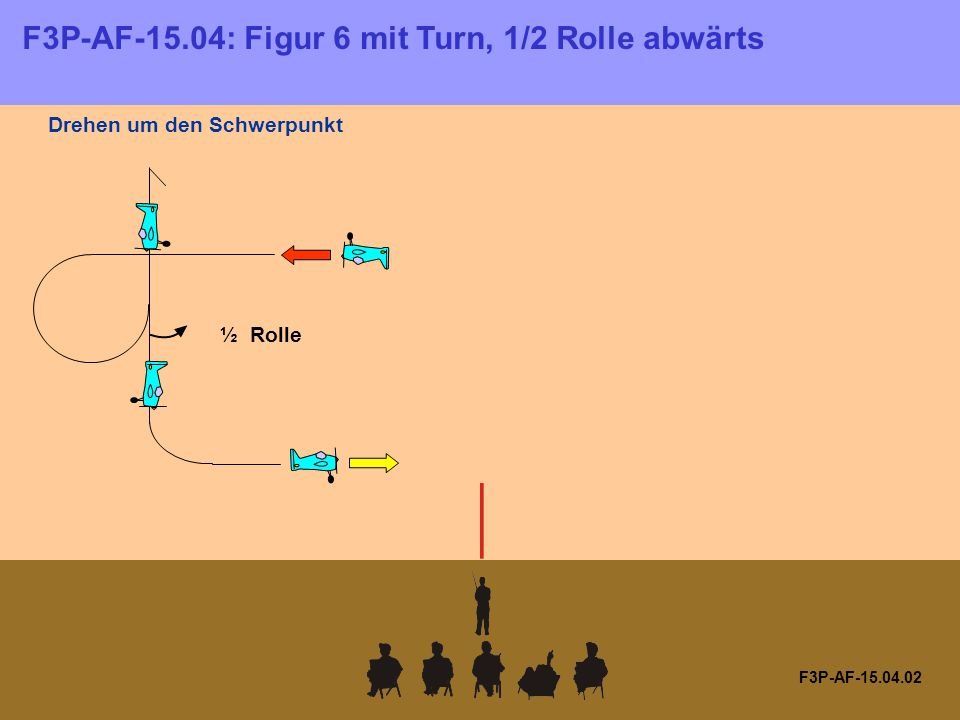 F3P-AF-15.09.01 F3P-AF-15.09: Horizontales Dreieck mit 1/4 Rolle, 1/2 inte- grierter Rolle, Rolle, 1/2 integrierter Rolle, Rolle, 1/2 integrierter Rolle, 1/4 Rolle ¼ Rolle ½ integrierte Rolle nach außen Rolle nach innen