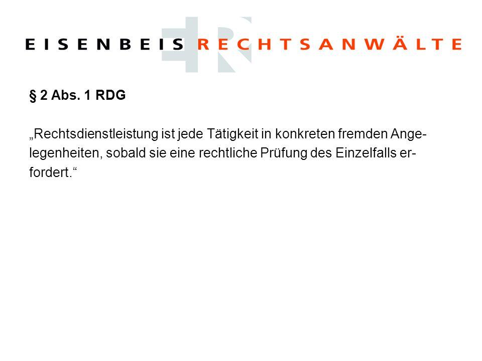 """Spannungsfeld: """"Darf durch Architekten Rechtsberatung erbracht werden."""