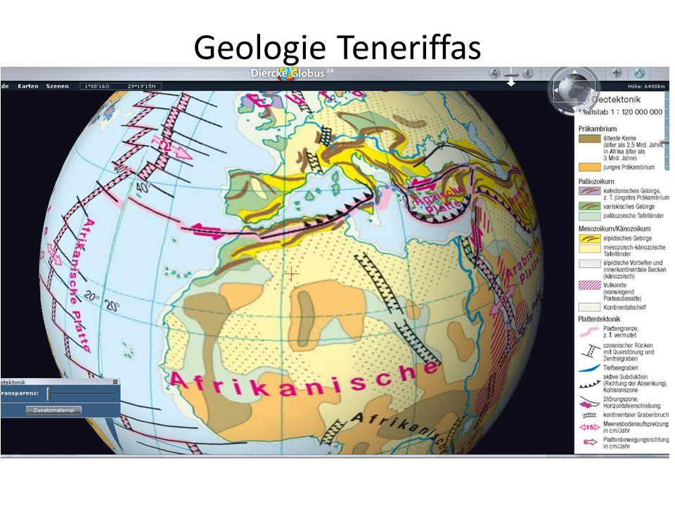 Geologie Teneriffas