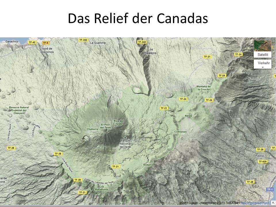 Das Relief der Canadas