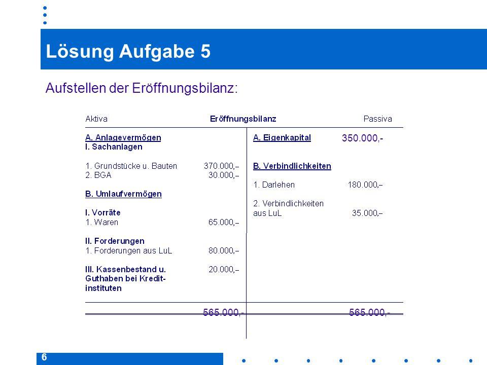 57 Lösung Aufgabe 10  Steuern und Versicherungsbeiträge werden am 10.03.