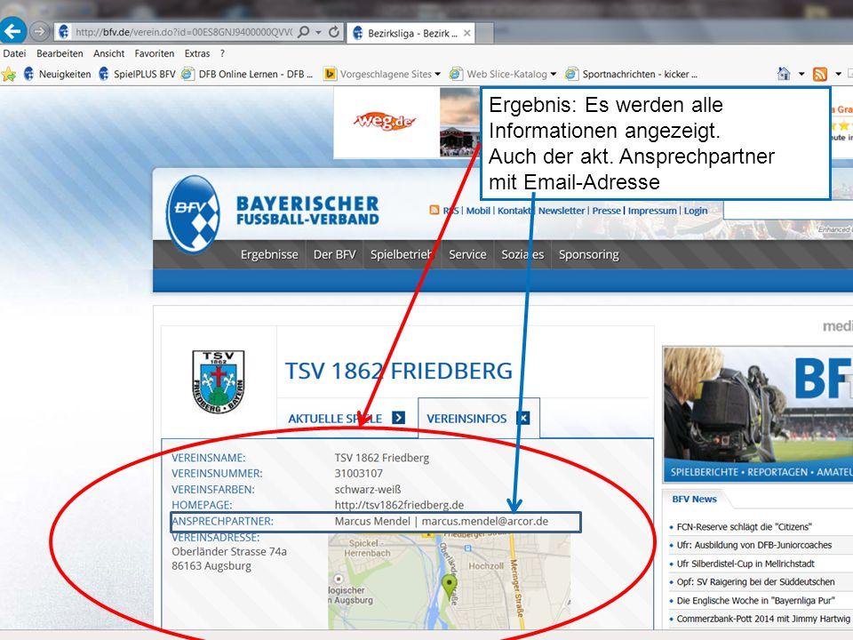 """21.10.2014BSA Schwaben7 """"Miteinander, Füreinander: Hand in Hand! Ergebnis: Es werden alle Informationen angezeigt."""