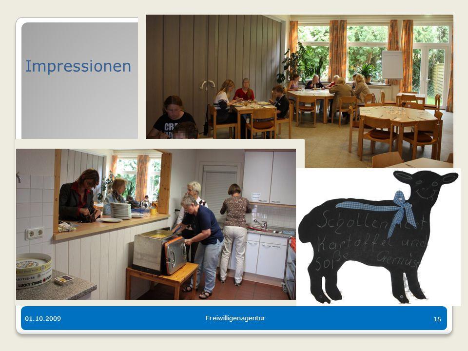 Der bunte Tisch in Langen 01.10.2009 Freiwilligenagentur 15 Impressionen