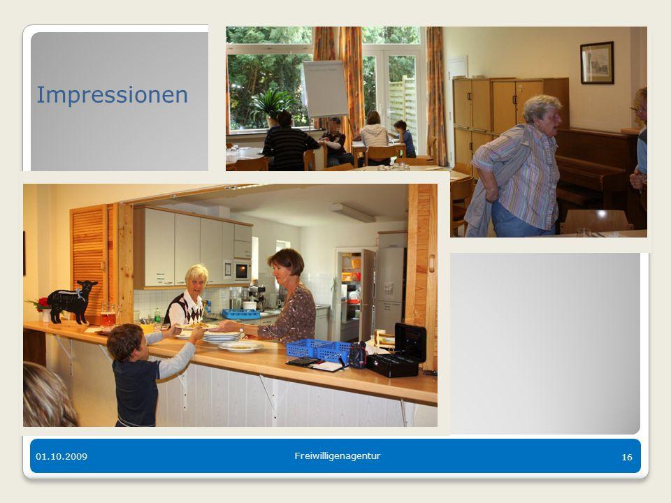 Der bunte Tisch in Langen 01.10.2009 Freiwilligenagentur 16 Impressionen