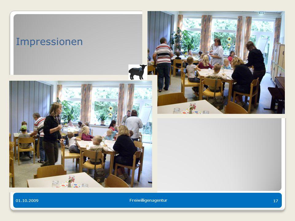 Der bunte Tisch in Langen 01.10.2009 Freiwilligenagentur 17 Impressionen