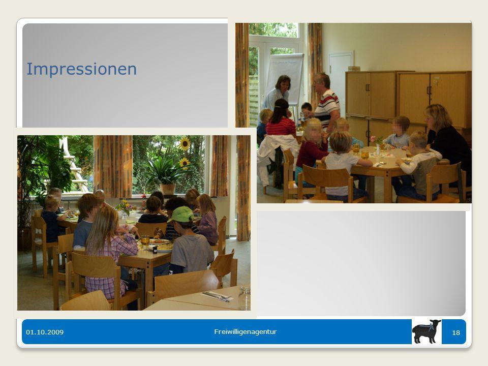 Der bunte Tisch in Langen 01.10.2009 Freiwilligenagentur 18 Impressionen