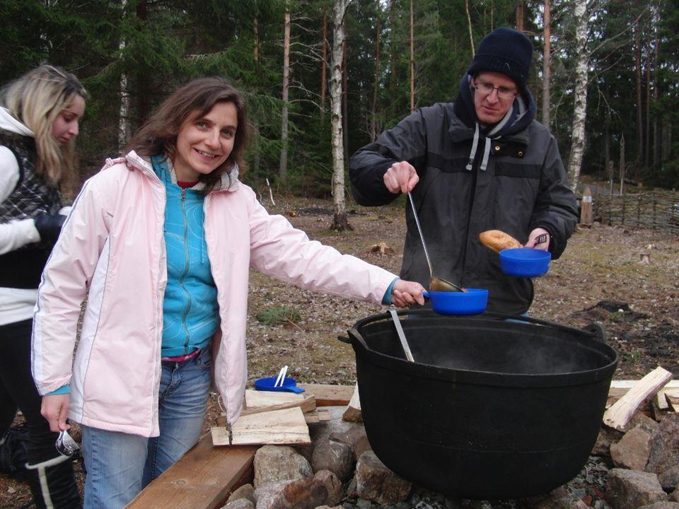 Schweden Türkei Nature camp Elchstew naturhuset Gastfreundschaft Kargheit auf 1200 m Flora: große Ähnlichkeit mit Vorarlberg Doctor-fish Asphalt aus Haselnuss- Schalen