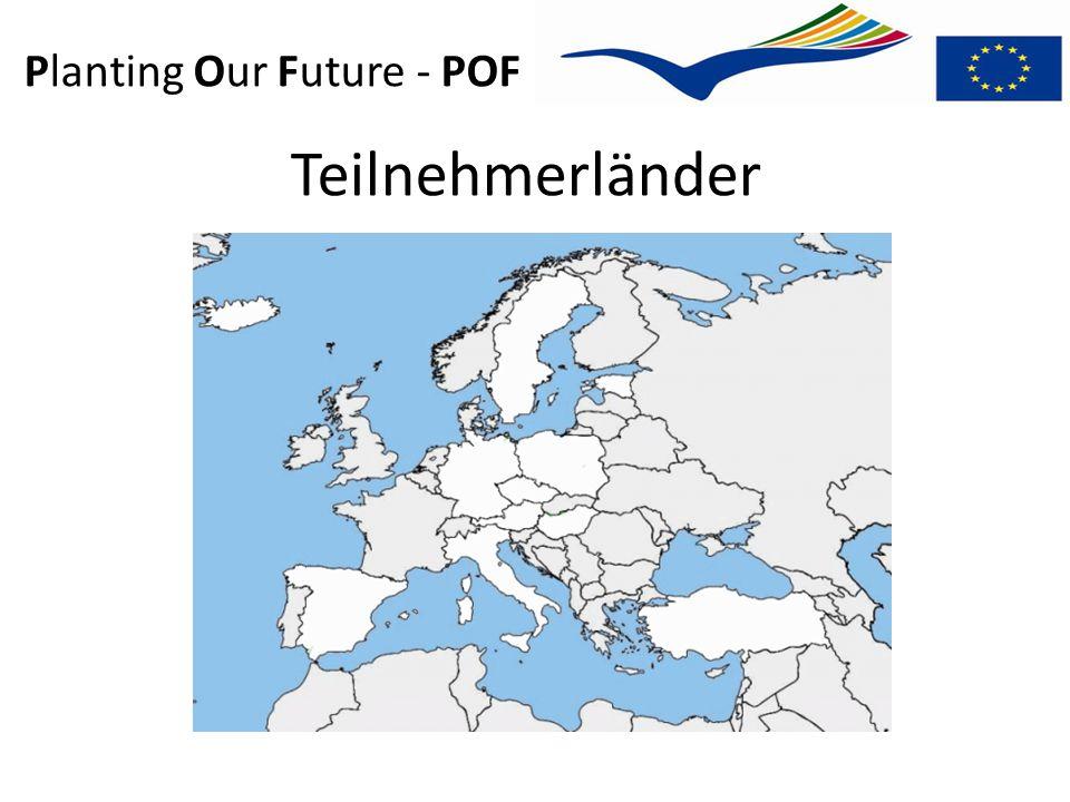 Planting Our Future - POF Teilnehmerländer